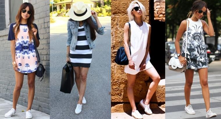 look-inspiracao-tenis-branco-com-vestido